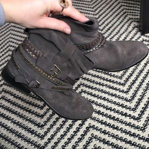 Dolce Vita western jeweled wrap buckle boots
